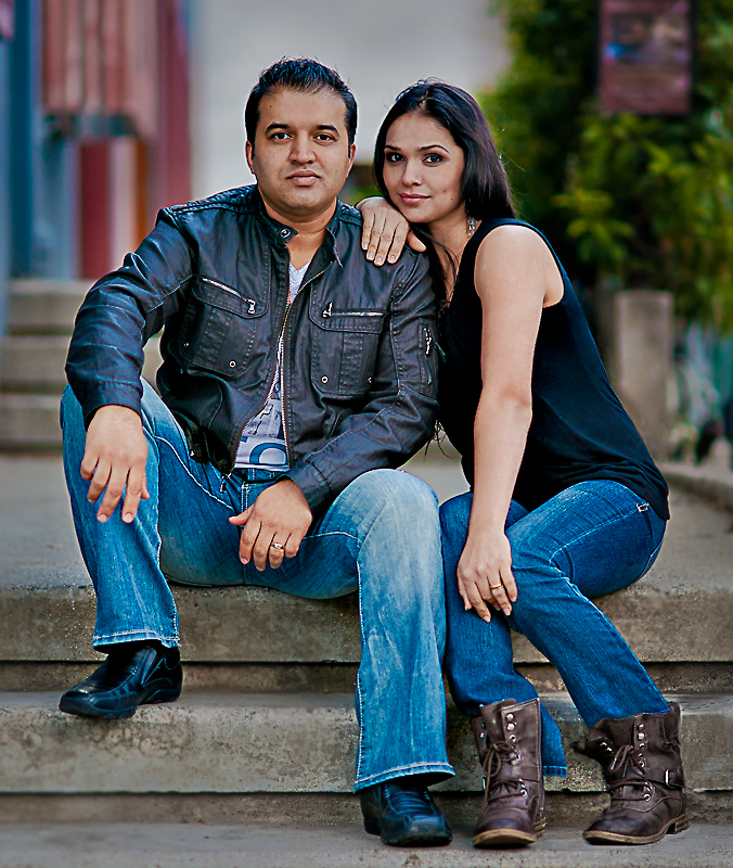 Sameer and Sonia Soorma for about us page on Sameer Soorma Studios